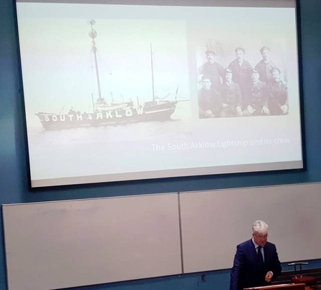 Dr.Michael Kennedy and the disappearance of the South Arklow Lightship