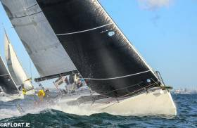 Paul O'Higgin's defending champion, the JPK 1080 Rockabill VI, will be hoping for firm breezes for next Wednesday's 280-mile National YC Volvo Dun Laoghaire to Dingle Race