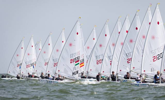 Irish Laser Ace Finn Lynch & New 49er Combo In Top Ten of Delta Lloyd Regatta