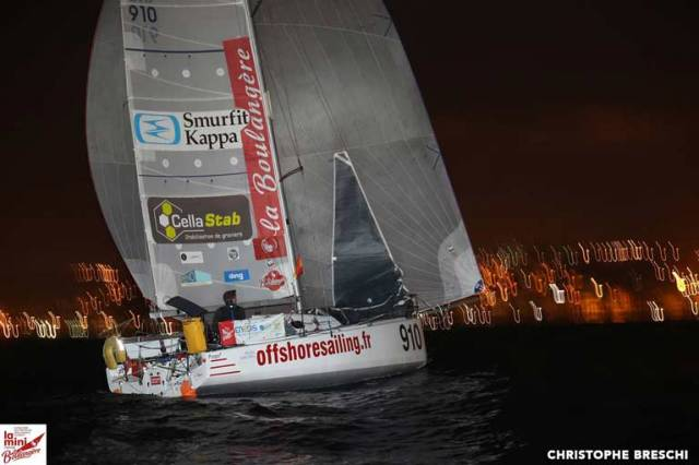 Tom Dolan Holds 12th Place as Mini Transat Fleet Finally Reaches Las Palmas