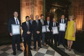Delegates in Barcelona including Shannon Port Authority who were awarded by ESPO for achieving the Port Environmental Review System (PERS) certification.