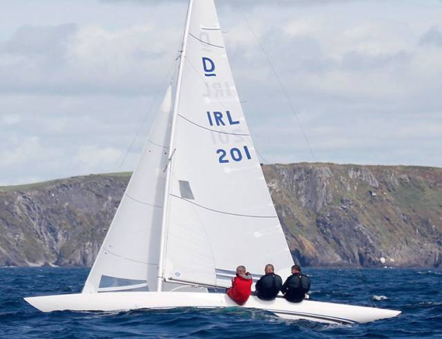 Martin Byrne's, Jaguar Sailing Team, are the defending Dragon champions and are seeking their fifth national title