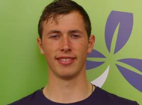 Patrick Boomer of the Ireland Quadruple Sculls.
