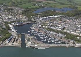 Approval has been given to revision of Milford Waterfront's development's outlining planning consent. The site forms part of the Port of Milford Haven in south-west Wales which as Afloat adds celebrates its 60th anniversary this year.