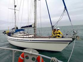 Howth RNLI Rescue Two Sailors & 48-Foot Yacht at Risk of Sinking