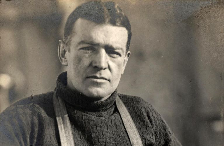 Kildare born adventurer Ernest Shackleton