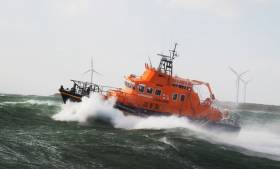 The volunteer lifeboat crew was first requested to launch their all-weather lifeboat shortly after 9am this morning