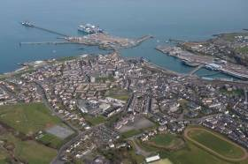 Holyhead, the port in north-west Wales to see increased cruise visitors in 2018 and where plans are for a multi-use jetty.
