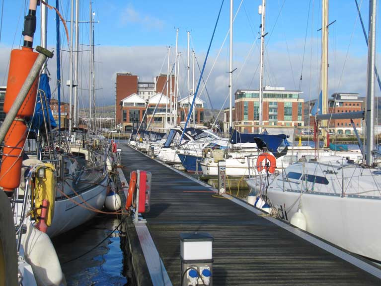 Bangor Marina Ease COVID Restrictions on Belfast Lough