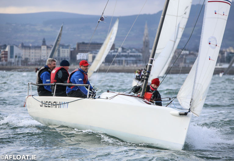J70s are one of six classes racing in May's inaugural Dun Laoghaire Cup for one-design keelboats hosted by the Royal Irish Yacht Club