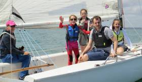 Smiles all round as the National Yacht Club celebrated 50 years of junior sailing last weekend