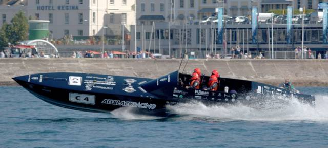 The Arklow–based team headed by John Ryan also won the best–placed non UK–crew and the best placed diesel Powered Powerboat