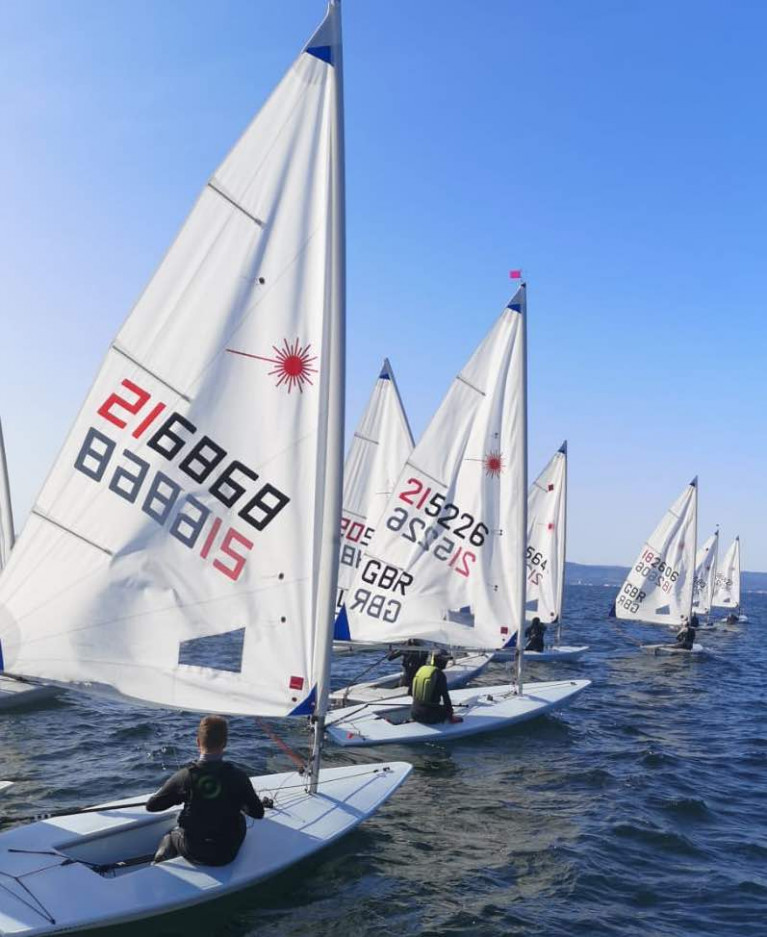 The RYA NI youth sailing championships at Ballyholme