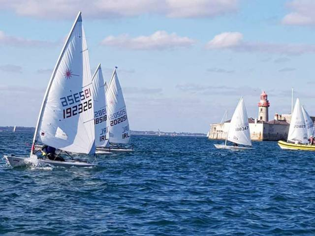 Dublin Dinghies Prepare for Royal St. George Final Fling Regatta