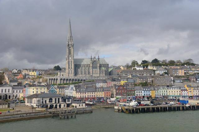 Cobh in Cork Harbour
