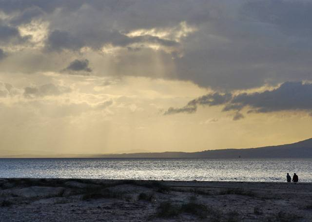 Lough Foyle's territory is claimed by both the United Kingdom and the Republic of Ireland