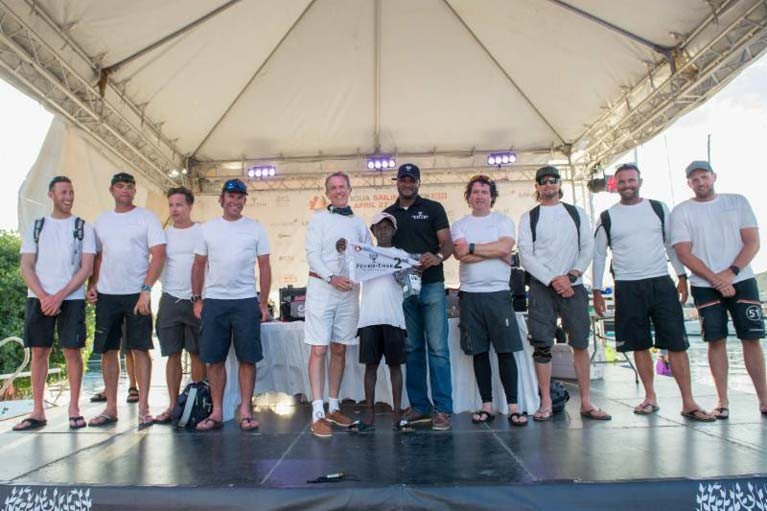 Adrian Lee's Swan 60 crew were 2019 division winners and next month the Lee Overlay Partners II return to the Caribbean 600 race track