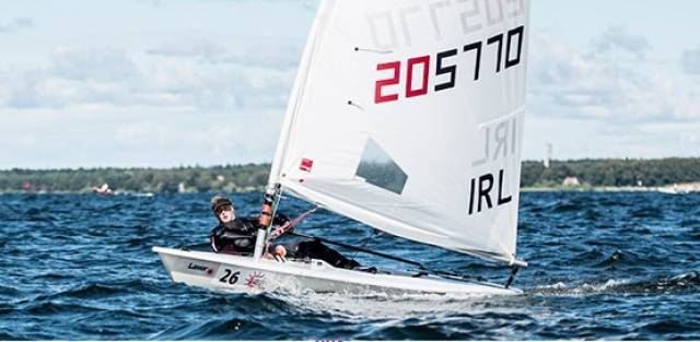 Howth's Aoife Hopkins finished fourth overall at the Laser Radial Youth European Championships.