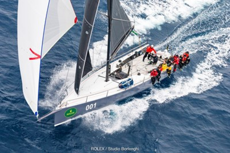 Matt Allen's Botin 52 Ichi Ban in showing well in the overall rankings, with the fleeting moving well again as a renewed northeast breeze powers the 75th Rolex Sydney-Hobart Race towards the finish.