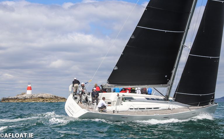 Seamus Fitzpatrick's First 50, Mermaid on her way to VDLR victory in 2019
