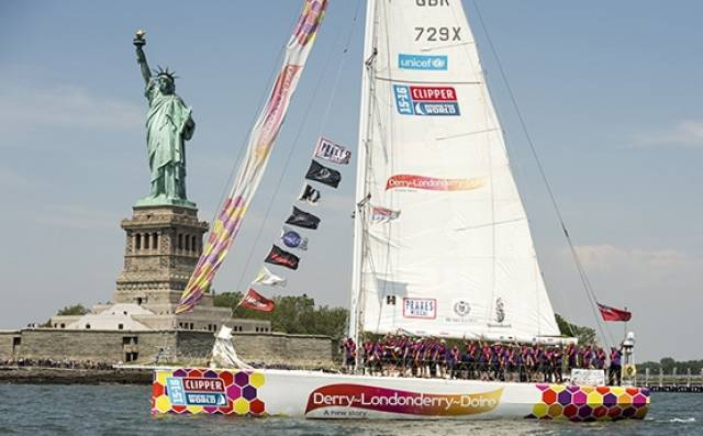 A local Derry-Londonderry Clipper Yacht Race crew are going for glory in race across the Atlantic ocean