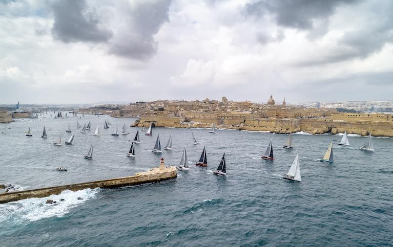 The 41st edition of the Rolex Middle Sea Race is scheduled to start on Saturday, 17 October.