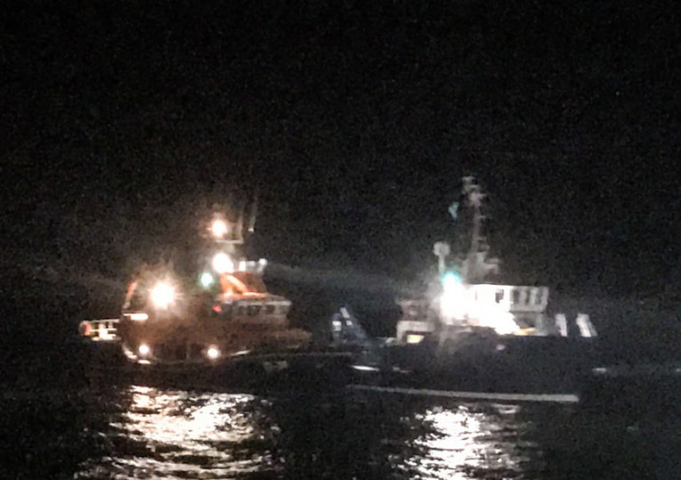 Tobermory Lifeboat Goes To Aid Fish Farm Support Vessel With Engine Fire