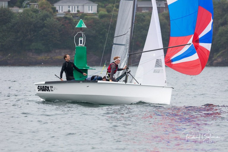 Shark II was the National 18 Dognose Trophy winner in Cork Harbour. See slideshow below