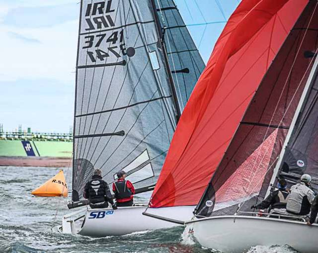 Three Irish SB20s For 2018 World Championships in Hobart