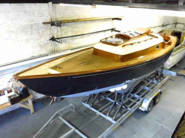 Cork's New Take on Old Glassfibre Boat Goes a Stage Further