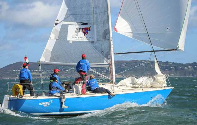 Brendan Foley's Running Wild was a class three competitor at the 2016 ICRA National Championships. Just ahead of this year's Championships, a cruiser–racer coaching weekend is being held at Howth Yacht Club with UK Sailmakers on May 20 and 21