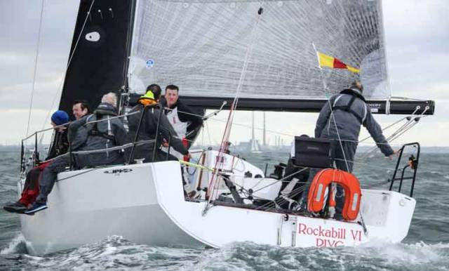ISORA Competitor Rockabill VI, a JPK 10.80, skippered by Paul O'Higgins, was the winner of the third race from Holyhead to Dun Laoghaire