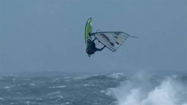 Storm Chase Windsurfers On Alert For Squalls On Ireland's West Coast