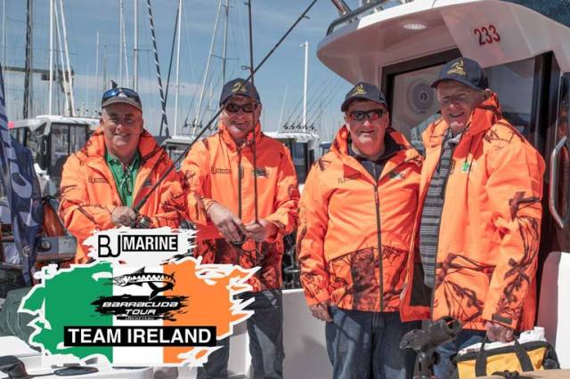 Joe McPeake, Joe Gough and Tommy Squires were selected as the team to travel to France and compete on the BJ Marine Barracuda 7
