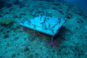 An ocean observation system at Okinawa, Japan