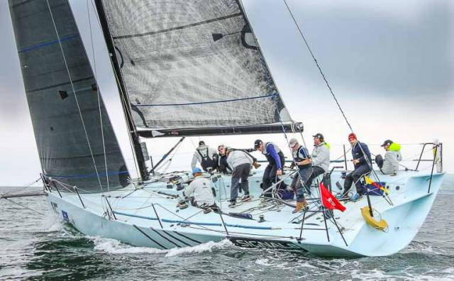 Bangor Town Regatta – The head turner will be Jamie McWilliam's Ker 40 from Royal Hong Kong Yacht Club seen here competing at Howth's Wave Regatta