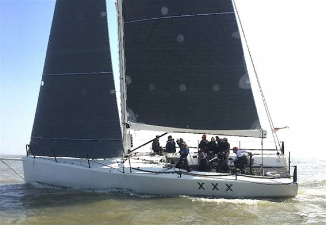 On board Adrian Lower and David Smith's Swan 48, Snatch