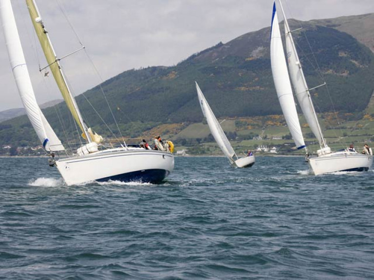 Sailing on Carlingford Lough