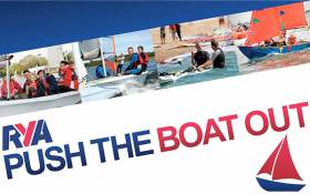Try Sailing This May In Northern Ireland As RYANI Gets Ready To 'Push The Boat Out'
