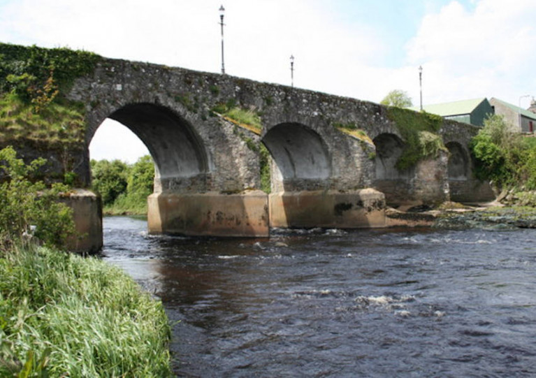 The River Derg, seen here at Ardstraw in Co Tyrone, is an important fishery for wild salmon