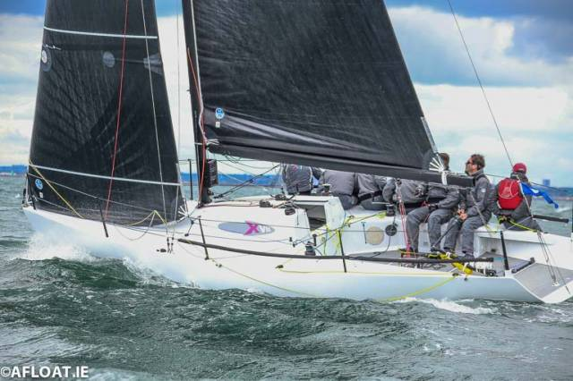 Royal Irish Yacht Club's Nigel Biggs has a four point lead of Division Two of the ICRA National Championships in Checkmate XVIII