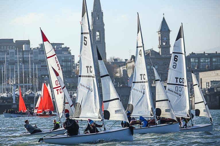 Team Racing is a fun and inexpensive way for clubs to attract young dinghy sailors