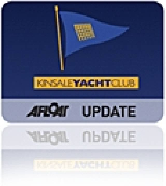 Kinsale Yacht Club Honours Navy's Rear Admrial Mark Mellett DSM