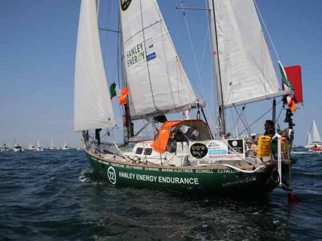 Plans are afoot to recover Gregor McGuckin's Abandoned Golden Globe Yacht