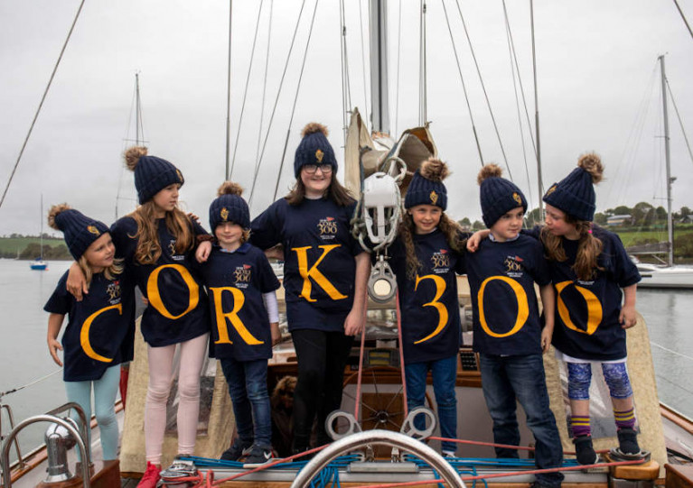 Young Royal Cork members at the launch of Cork300 last year