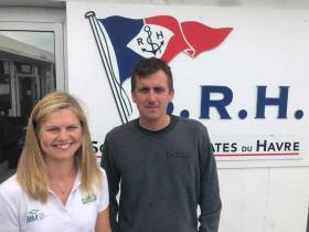 The 30-year-old Tom Dolan (above) from Kells, County Meath, will set out on his 32ft–yacht Smurfit Kappa to become the first Irish sailor in history to win the 'rookie' category. In a  first for Irish Sailing, two Irish solo sailors, Joan Mulloy (left) will be on the line for the La Solitaire Urgo Le Figaro this Sunday