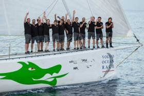 Portugal's campaign for its first entry in the Volvo Ocean Race 2020 has arrived in Barbados on Green Dragon, Ireland's 2009 VOR entry