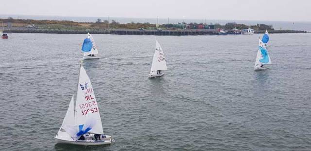 420s return to harbour at Wexford following the Leinster Championships