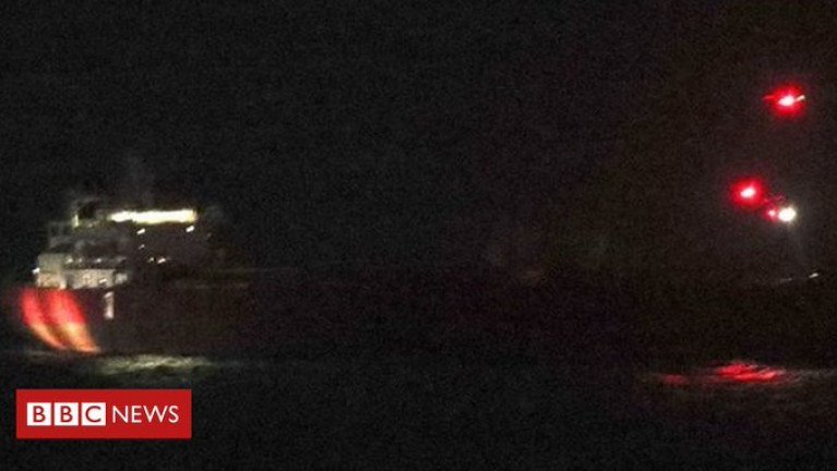 'Hijacking' Ends After Special Forces Nighttime Storm of Tankership Stowaways
