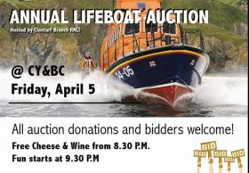 Clontarf Yacht & Boat Club Hosts Annual Lifeboat Auction Tonight